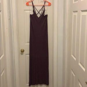 AE Strappy Back Maxi Dress Size M